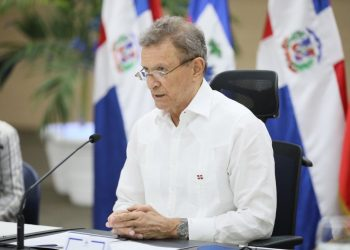 El canciller Roberto Álvarez se reunió vía telemática con su homólogo en Haití, Claude Joseph. | Fuente externa.