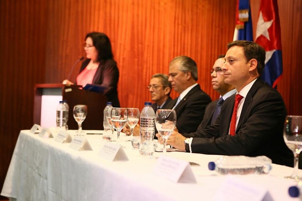 rodriguez, navarro y empresarios cubanos