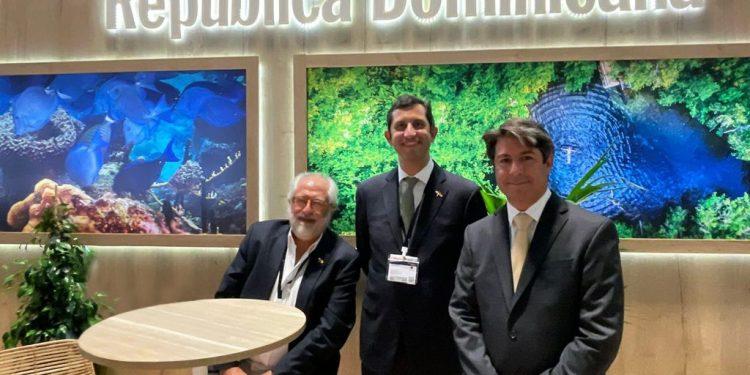 Rolando González-Bunster, Roberto Herrera y Rafael Blanco hijo.