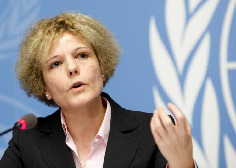 La experta en salarios de la oficina de la Organización Mundial del Trabajo (OIT) Rosalía Vázquez-Álvarez.   Salvatore Di Nolfi, EFE.