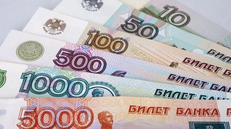 rublos rusos, moneda rusa, rusia