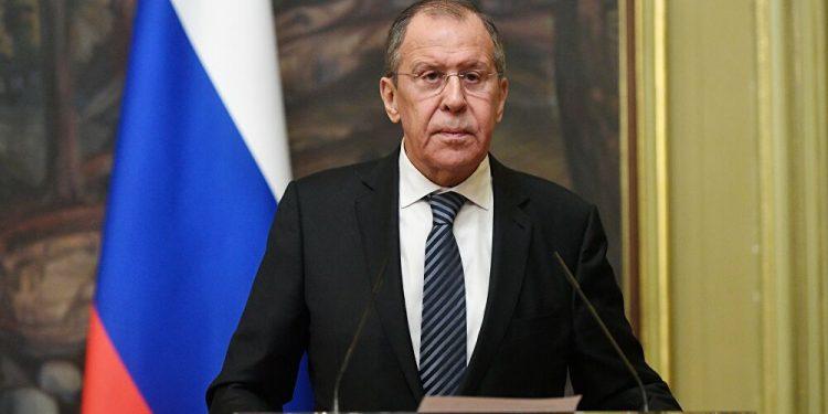 el ministro de Asuntos Exteriores de Rusia, Serguéi Lavrov.   Maxim Blinov, Sputnik.
