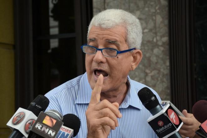 Sigfrido Cabral, presidente de la Asociación de Jubilados y Envejecientes.