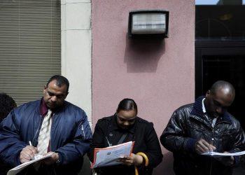 Solicitudes por desempleo EEUU