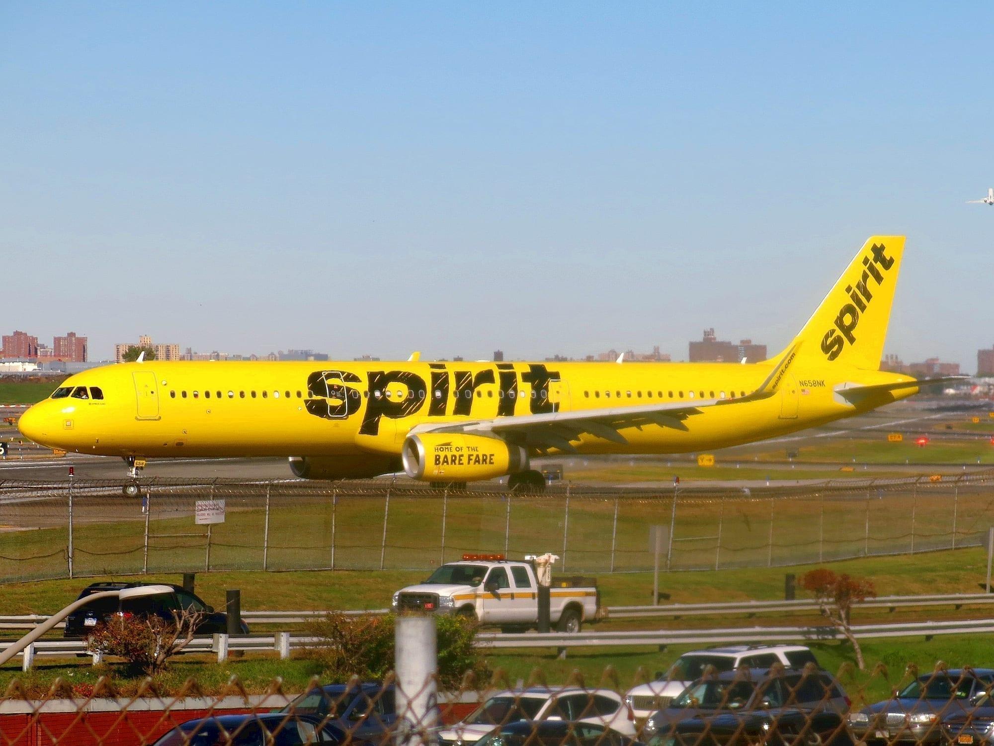 spirit airlines airbus a321 231(wl) n658nk
