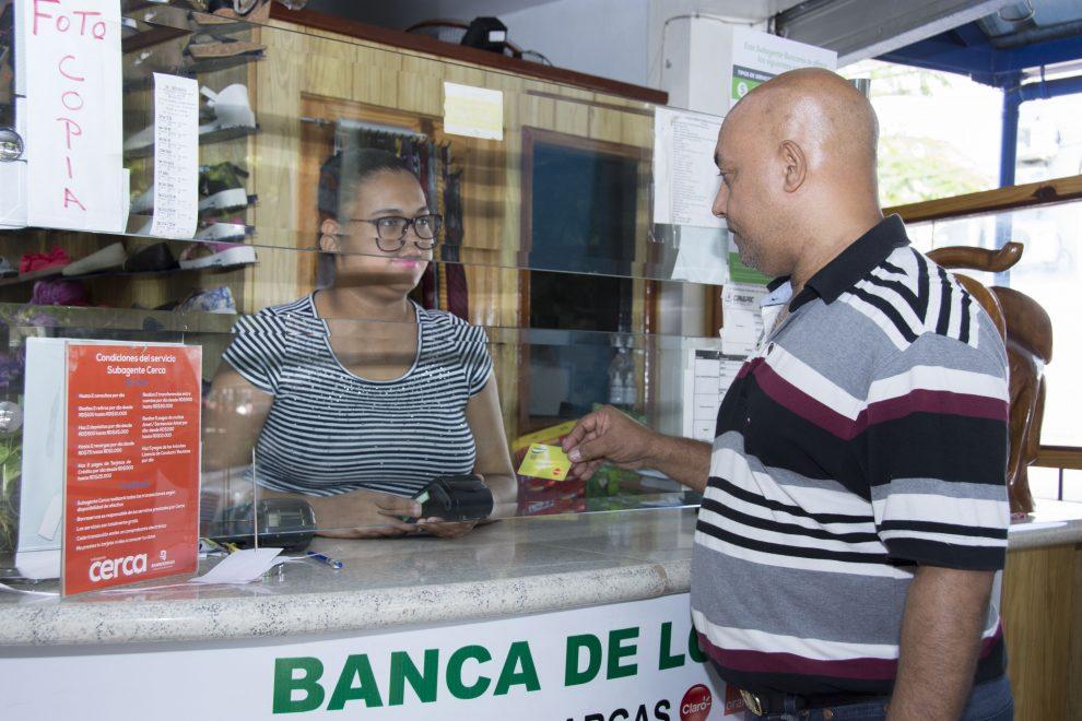 subagentes bancarios