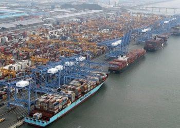 Superávit comercial Corea del Sur, exportaciones