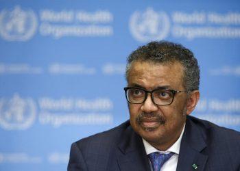 El director general de la OMS, Tedros Adhanom Ghebreyesus. | Salvatore Di Nolfi, EFE.