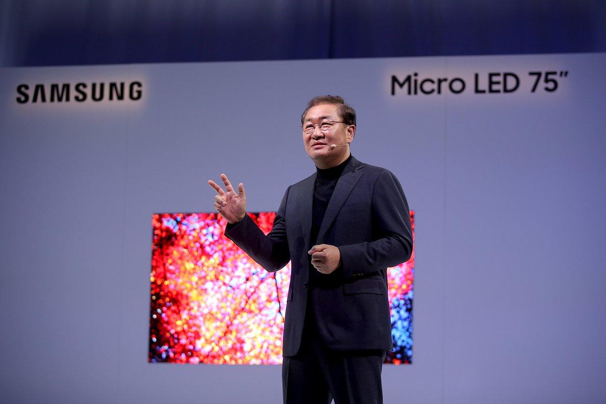 televisión samsung microled
