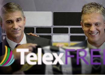 Los principales ejecutivos de TelexFree, James Merrill y Carlos Wanzeler, el primero sentenciado y el segundo prófugo en Brasil.   Fuente externa.