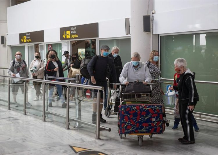 Turismo España, llegada de turistas España