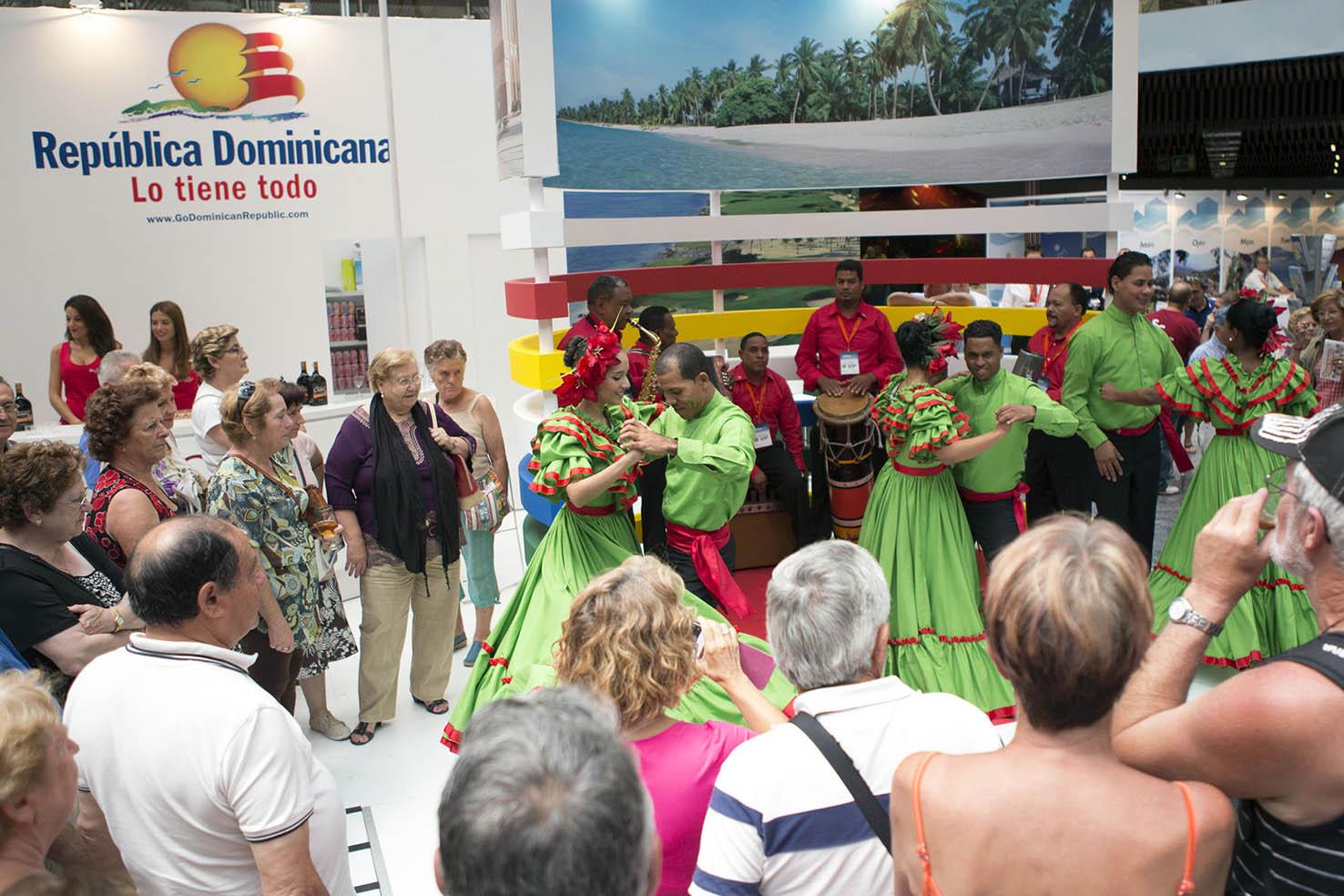 El turismo es el principal generador de divisas de la República Dominicana, por lo que la promoción del país en el exterior es constante.