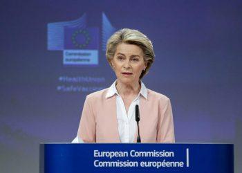 La presidenta de la Comisión Europea, Ursula Von der Leyen. | Aris Oikonomou, EFE.