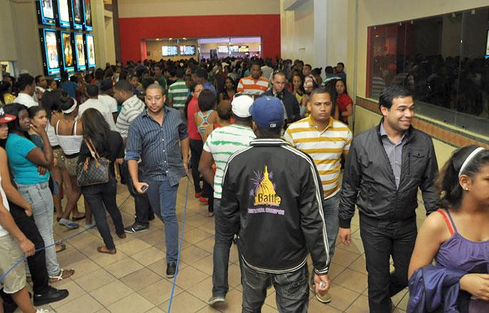 La película Vamos de Robo fue la que registró mayor recaudación en el 2014, con RD$60.7 millones, según la Dirección General de Cine.