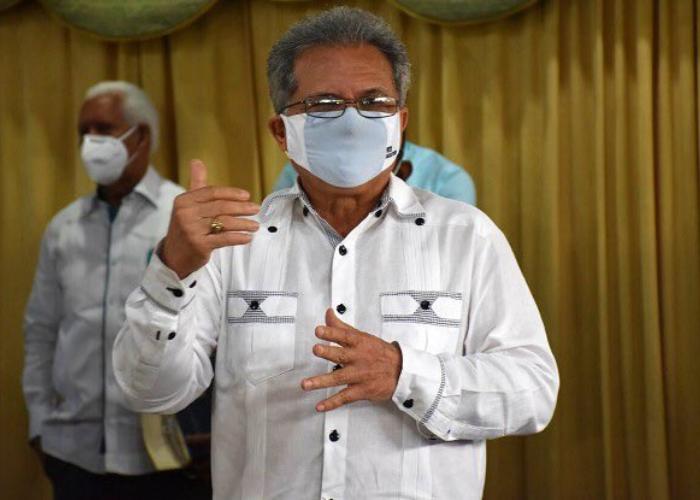 El presidente del Colegio Médico Dominicano (CMD), Waldo Ariel Suero.  | Fuente externa.