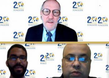 Wayne Camard, Jorge Espinosa y Ricardo Pimentel.