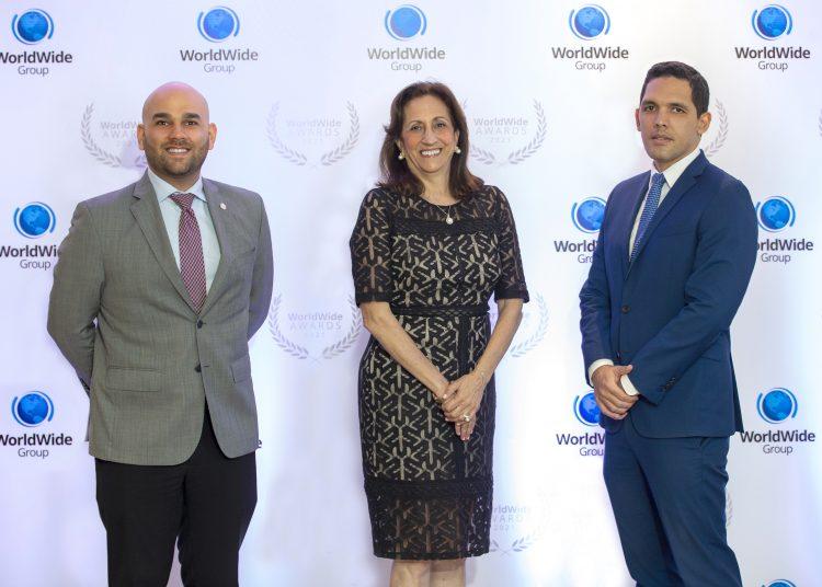 Yamel Atieh, Betty Cyjon y Fernando Joa