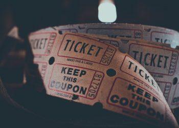 Ticket, cine, cines