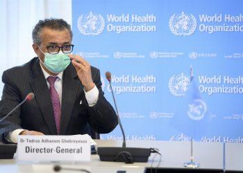 El director general de la OMS, Tedros Adhanom Ghebreyesus. | Laurent Gillieron, EFE.