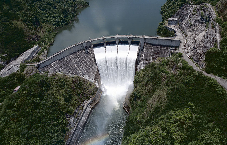 Las presas constituyen las principales fuentes de abastecimiento de la población, así como de la agricultura.