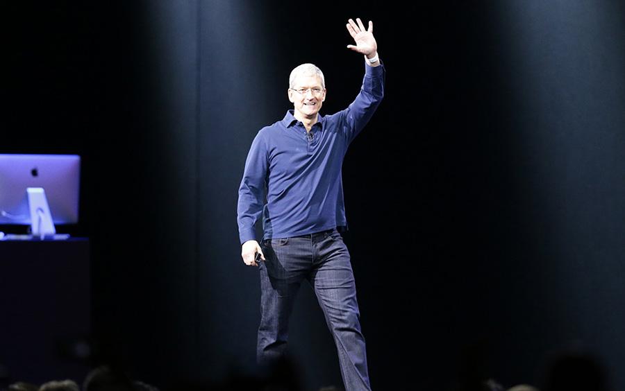 """""""Es un nuevo capítulo en el mundo de la música"""", dijo el consejero delegado de Apple, Tim Cook.   Apple"""