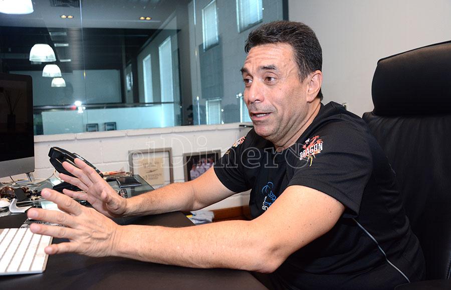 Archie López lleva más de 30 años relacionado a la producción de audiovisuales en el país.   Gabriel Alcántara