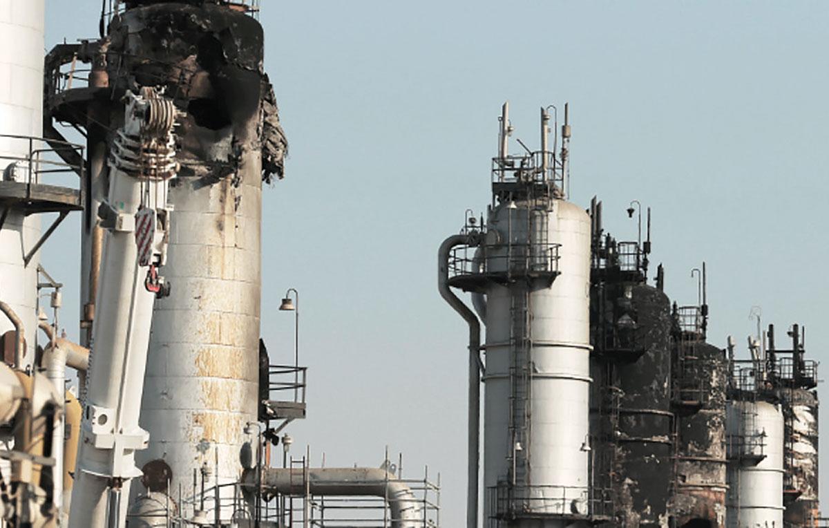 ataque refineria arabia saudita