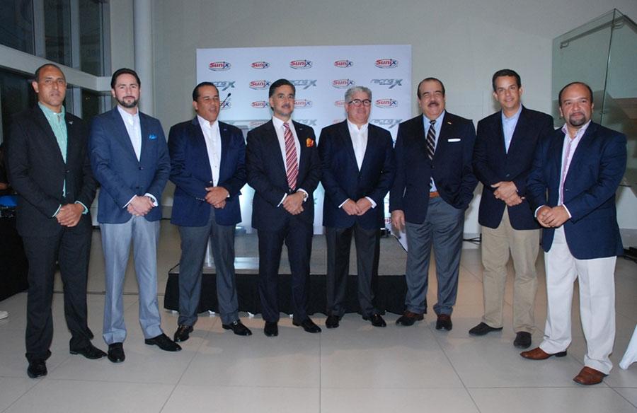 Diego Campos, Gerardo Simón, Danilo Bobadilla, Carlos José Martí, Gustavo Cabrera, Cristóbal Marte, José Ricardo Leroux y Diego Almonte.