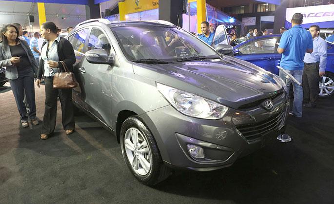 Los nuevos modelos de yipetas Hyundai son de gran atracción para las mujeres