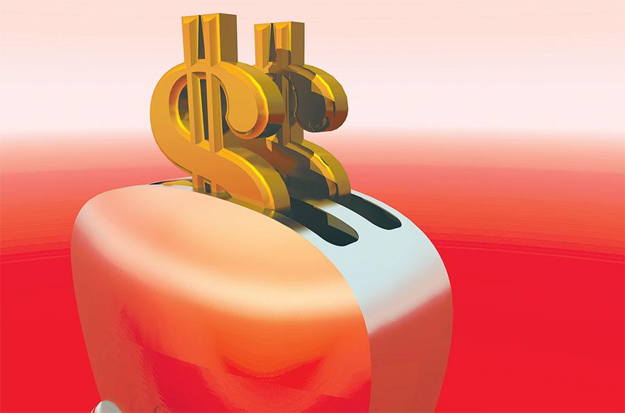Nueve entidades mantienen RD$13,128.6 millones, lo que equivale al 14.3% de los activos disponibles al cierre de agosto, según las estadísticas oficiales.