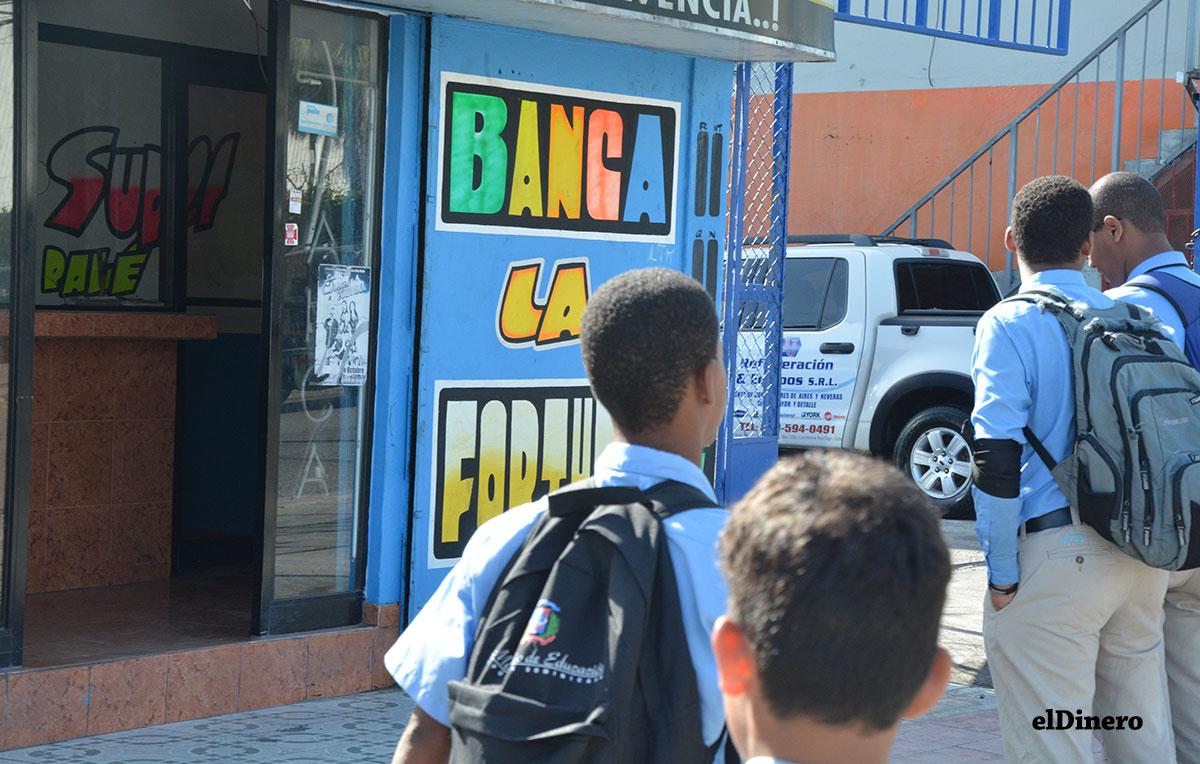 bancas de loteria escuelas
