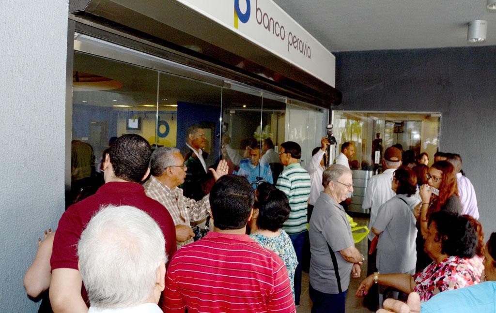 El Banco Peravia está bajo la supervisión de las autoridades monetarias./Gabriel Alcántara