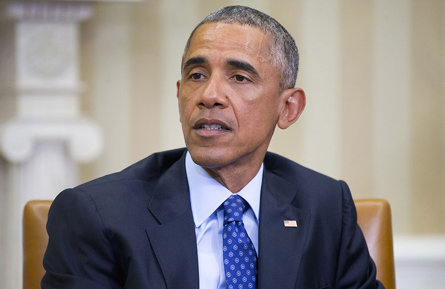 """""""Fue el liderazgo firme y con principios de EE.UU. en el escenario mundial el que hizo posible ese logro"""", insistió Obama./Fuente externa"""