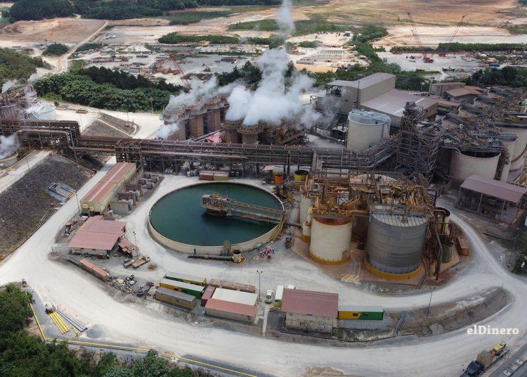 Vista de la planta de tratamiento de aguas de la minera Barrick Pueblo Viejo. | Omar Marte
