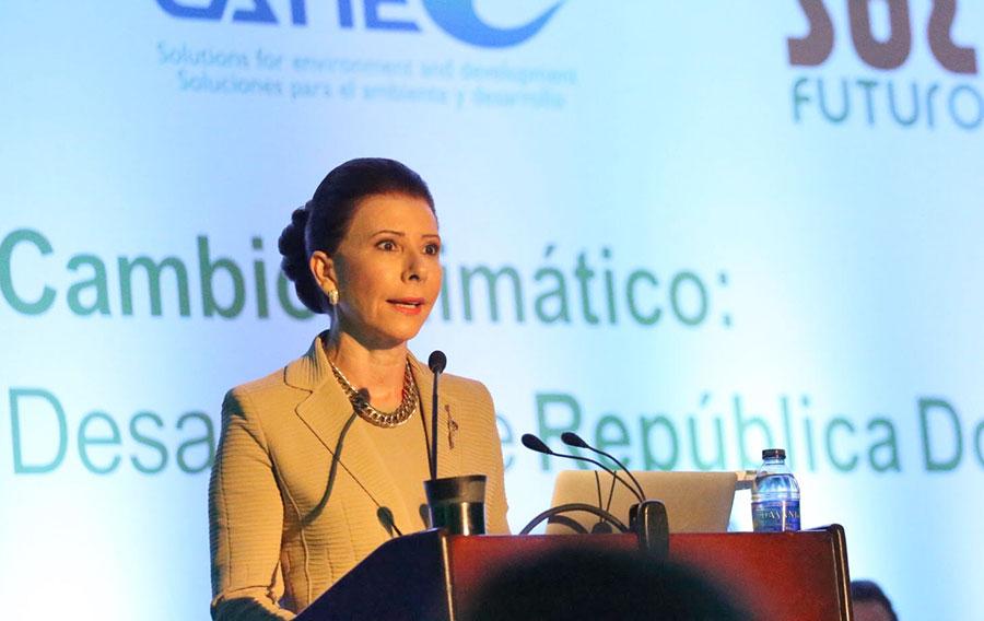 Melba Segura de Grullón, presidenta de Sur Futuro.
