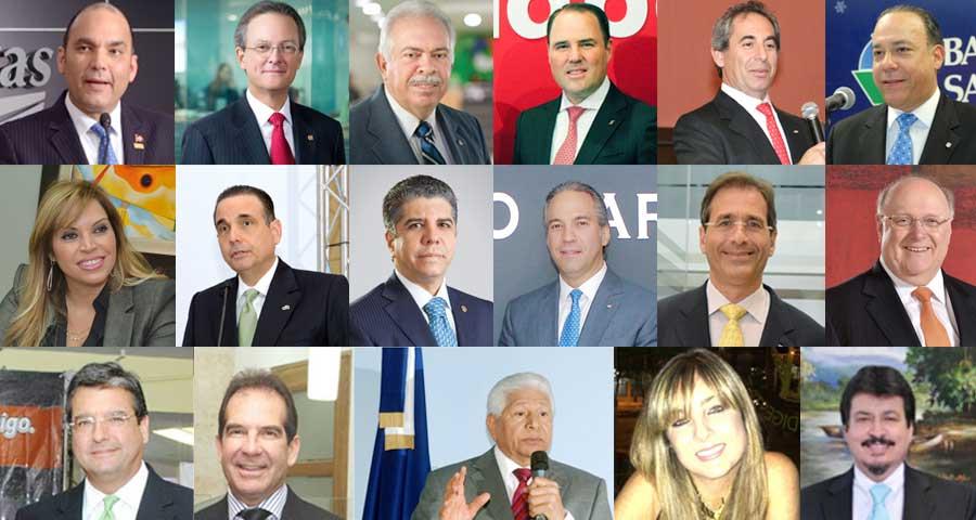 Estos ejecutivos manejan el 85.9% del total de los activos del sistema financiero de República Dominicana (17 bancos múltiples).   elDinero