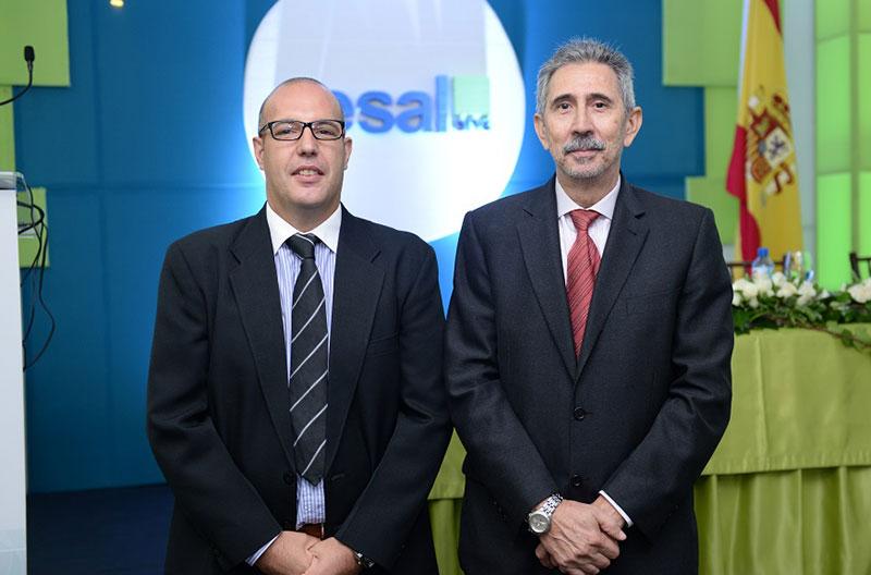 Antonio Benete y Carlos Cano Cornueva, director de CESAL y coordinador general de la AECID, respectivamente.