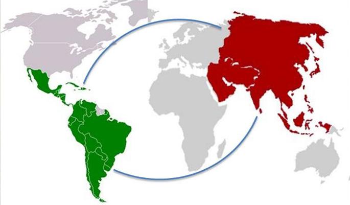 Las economías de China y Brasil han mostrado un comportamiento a la baja en lo que va de año.