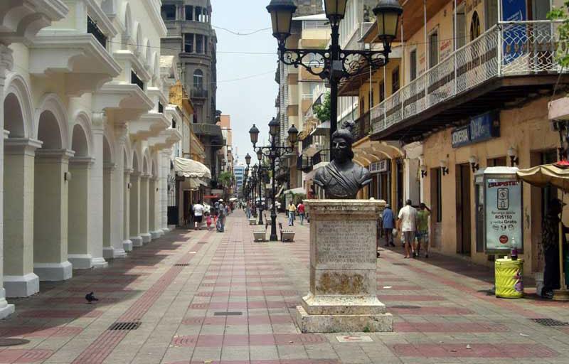 ciudad colonial calle el conde