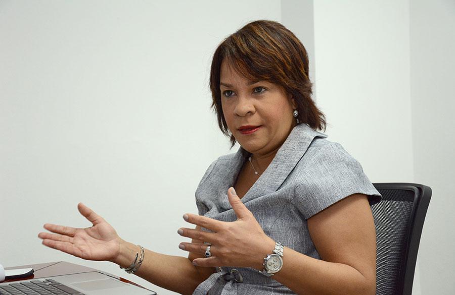 Clara González, directora ejecutiva de la Asociación de Puestos de Bolsa (APB). | Gabriel Alcántara