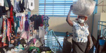 Los haitianos suplen gran parte de su mercado con productos dominicanos adquiridos en la frontera.   Lésther Álvarez
