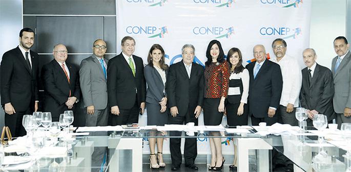 El Consejo Nacional de la Empresa Privada (Conep) presentó a los medios los puntos fundamentales en los que sustentará su plan de acción durante la gestión que preside Rafael Blanco Canto.
