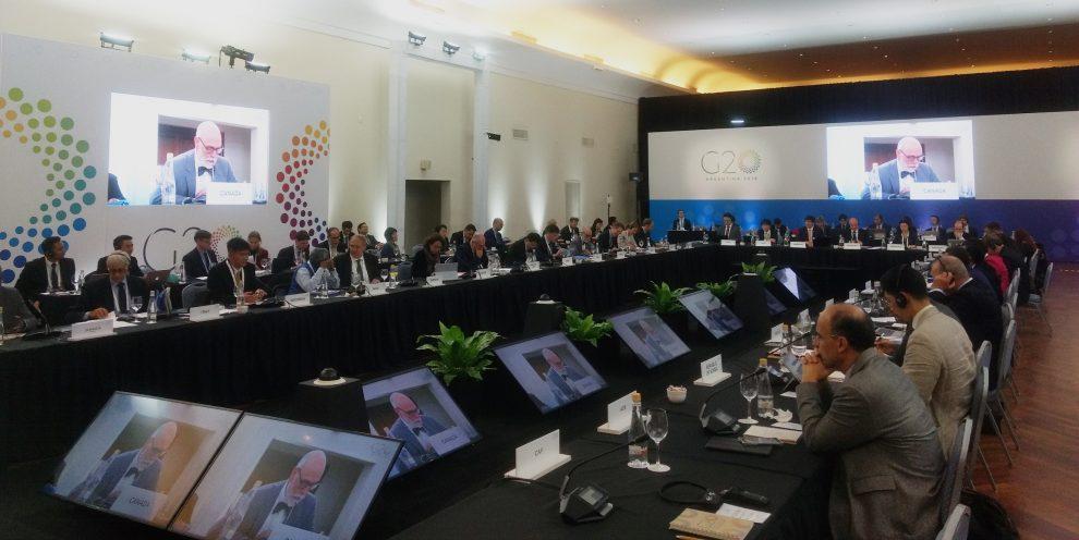 crecimiento económico g20