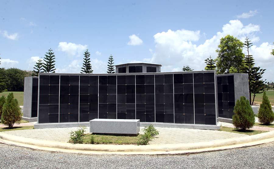 Columbario del Cementerio Parque del Prado