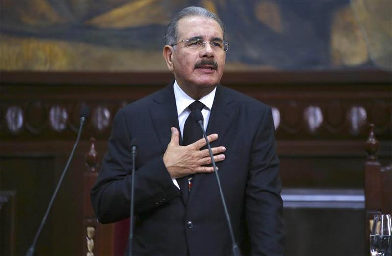 Danilo Medina en sus discurso de rendición de cuentas en la Asamblea Nacional.