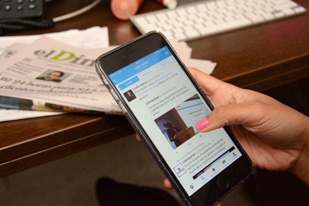 directivos bancos redes sociales