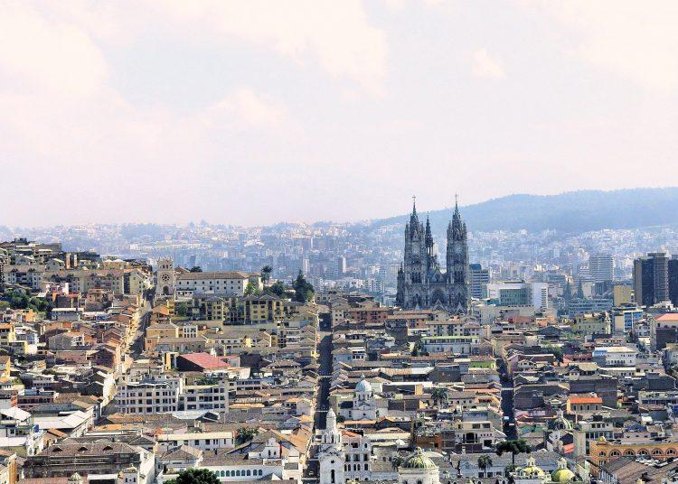 Ciudad de Quito, Ecuador.   Pixabay.