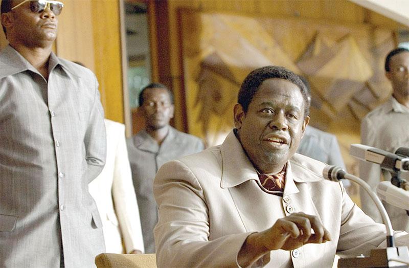 Forest Whitaker tuvo que aumentar 40 libras para adquirir la apariencia del dictador Adi Amin Dada.