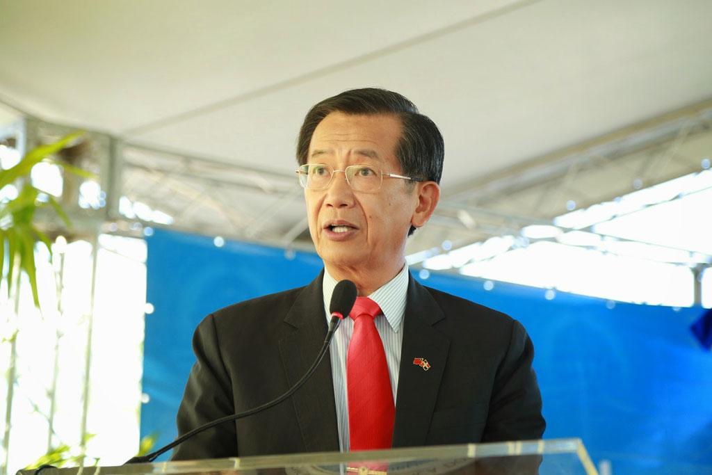 Tomás Ping Fu Hou, embajador de Taiwán.