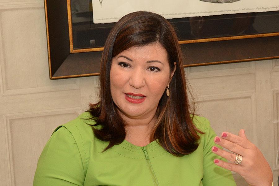 Cesilia Jiménez, presidente de Feltrex, durante su participación en el Desayuno Financiero de elDinero. | Lésther Álvarez